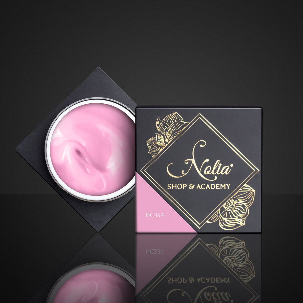 High Cover Gel HC354 - NEON DUST PINK