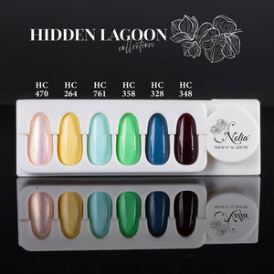 High Cover Gel HC761 - AQUA