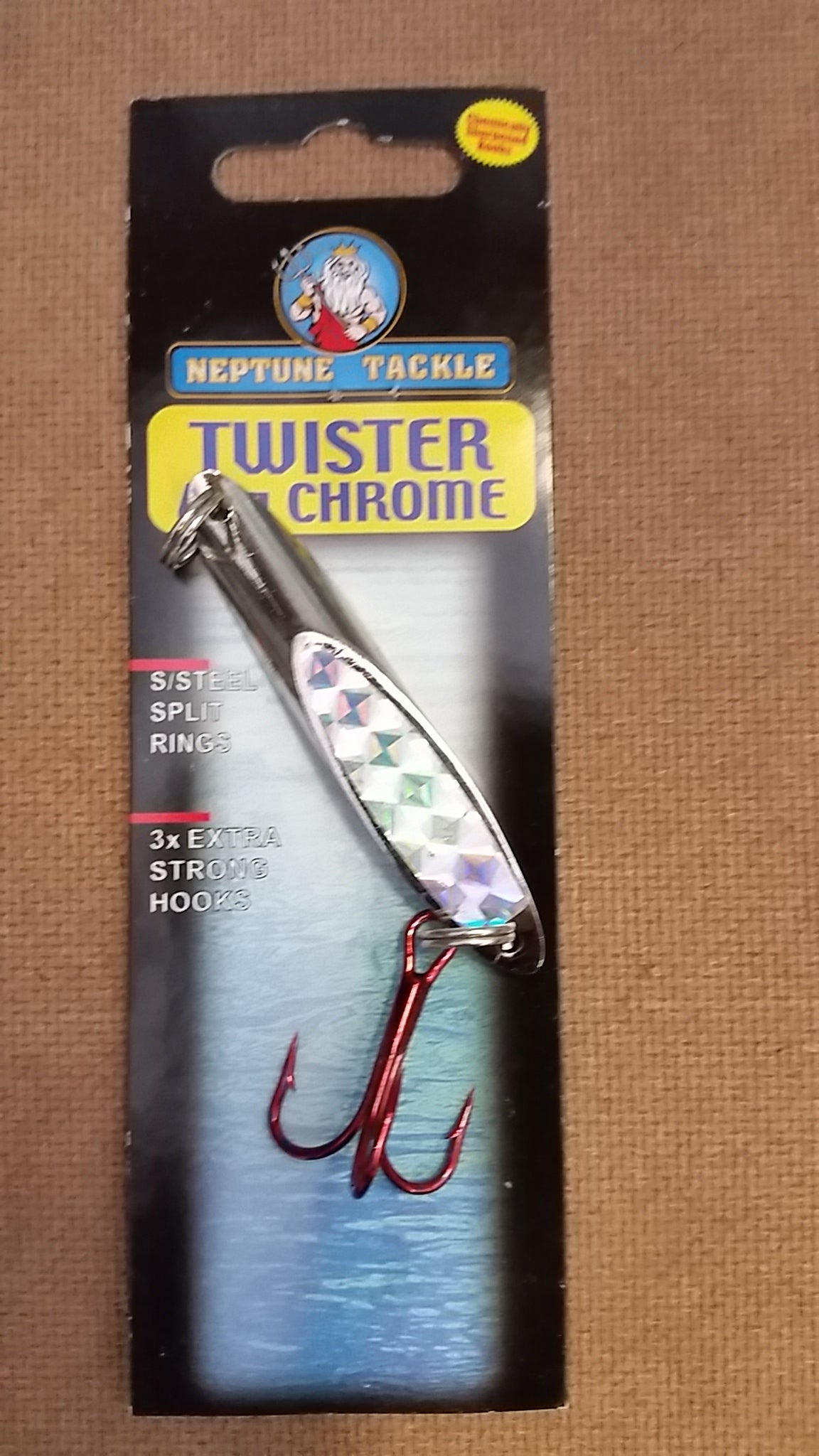 NEPTUNE TACKLE CHROME TWISTER