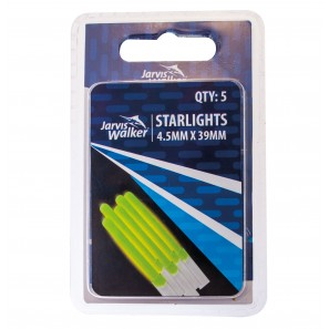 JARVIS WALKER STARLIGHTS GLOW STICKS 4.5mm X 39mm 5PK