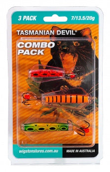 TASMANIAN DEVIL MULTI PACKS ASSORTED COLOURS