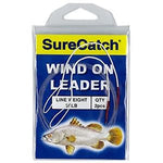 SURECATCH WIND ON LEADER 2PCE 20LB
