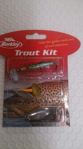 BERKLEY TROUT KIT 3 PIECE