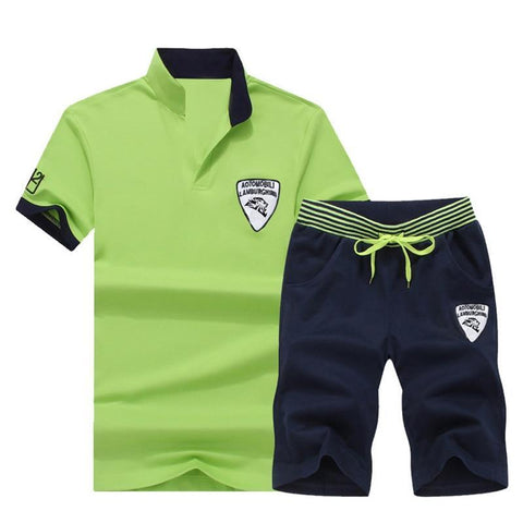 Men Sports Two Piece Set