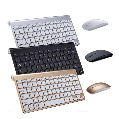Portable Wireless Keyboard for Gaming, Multimedia, Laptop, Tablet