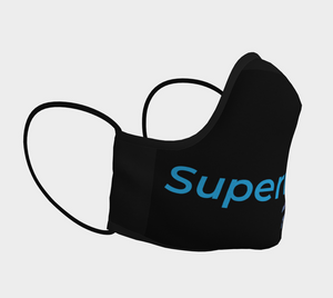 Supernova Face Mask Black