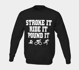Stroke It Crew Sweater