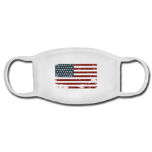 Load image into Gallery viewer, USA Face Mask - white/white