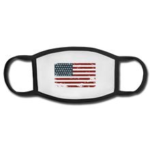 Load image into Gallery viewer, USA Face Mask - white/black