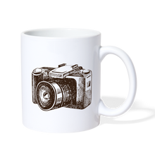 Load image into Gallery viewer, Camera Mug - white