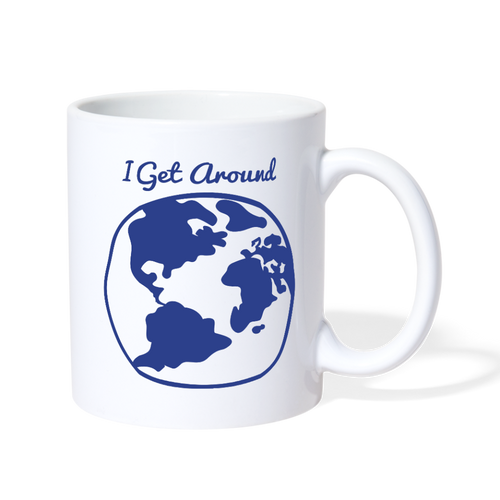 I Get Around Mug - white