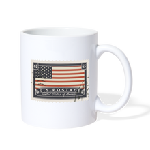 Load image into Gallery viewer, U.S. Postage Mug - white