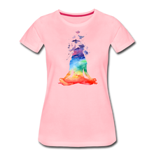 Load image into Gallery viewer, Yoga dreams Women's Premium T-Shirt - pink