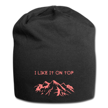 Load image into Gallery viewer, I Like It On Top Wool Cap - black