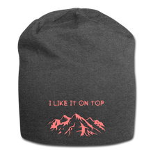 Load image into Gallery viewer, I Like It On Top Wool Cap - charcoal gray