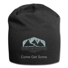 Load image into Gallery viewer, Adventure Come Get Some Wool Cap - black