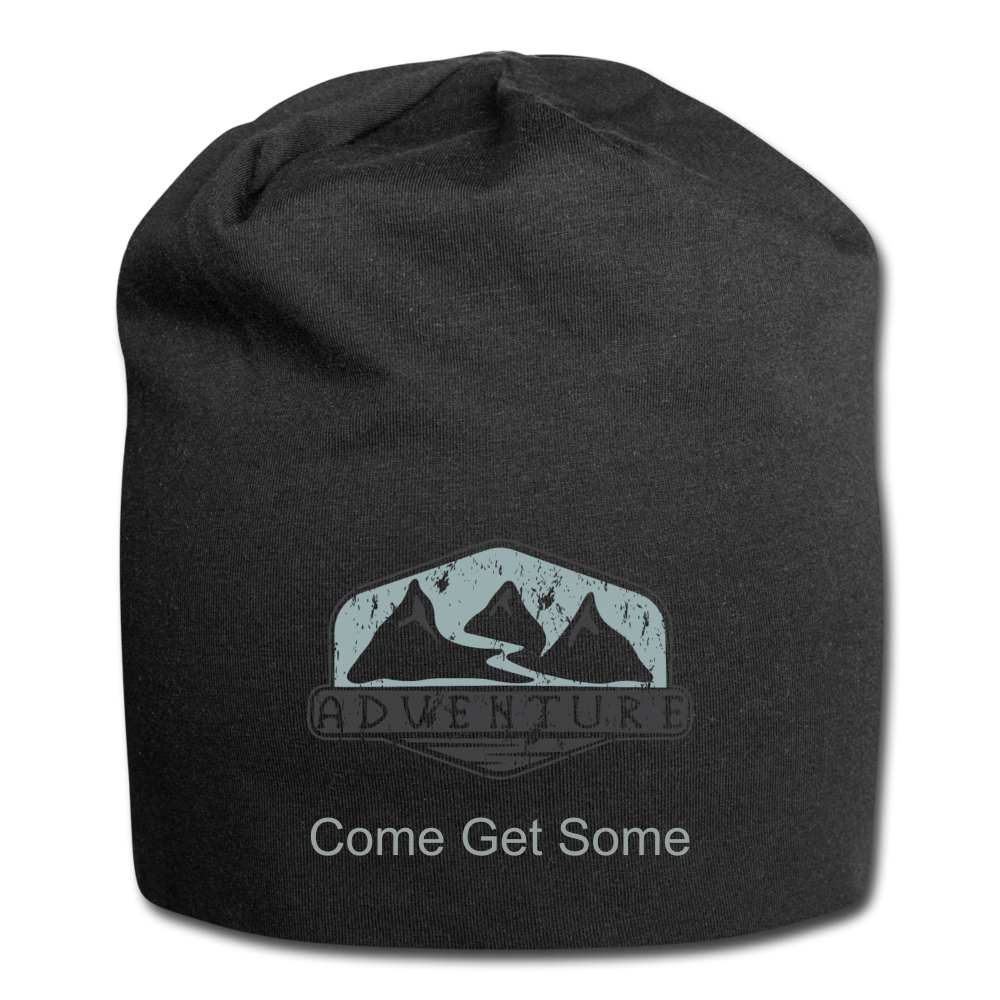 Adventure Come Get Some Wool Cap - black
