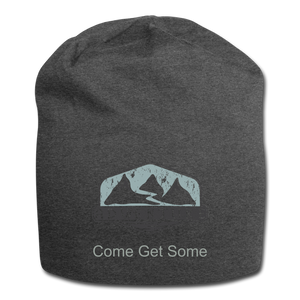 Adventure Come Get Some Wool Cap - charcoal gray