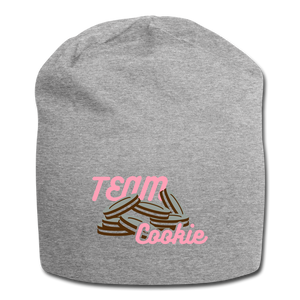 Team Cookie Wool Cap - heather gray