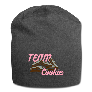 Team Cookie Wool Cap - charcoal gray