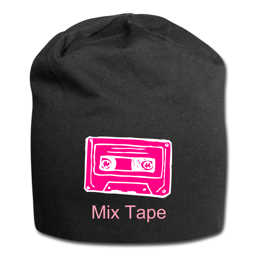 Mix Tape Wool Cap - black