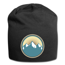 Load image into Gallery viewer, Mountains Wool Cap - black