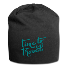 Load image into Gallery viewer, Time To Travel Wool Cap - black