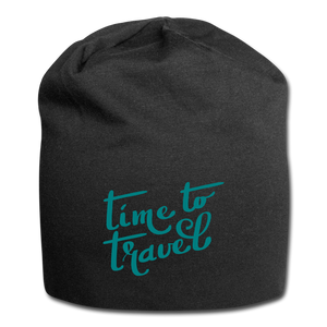 Time To Travel Wool Cap - black