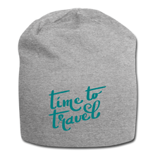 Load image into Gallery viewer, Time To Travel Wool Cap - heather gray