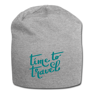 Time To Travel Wool Cap - heather gray