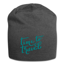 Load image into Gallery viewer, Time To Travel Wool Cap - charcoal gray