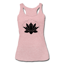 Load image into Gallery viewer, Your Only Limit Is Your Mind Women's Racerback Tank - heather dusty rose