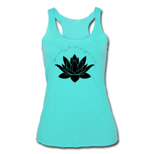 Load image into Gallery viewer, Your Only Limit Is Your Mind Women's Racerback Tank - turquoise