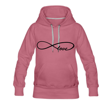 Load image into Gallery viewer, Infinti Love Women's Premium Hoodie - mauve