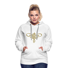Load image into Gallery viewer, Ornament Women's Premium Hoodie - white