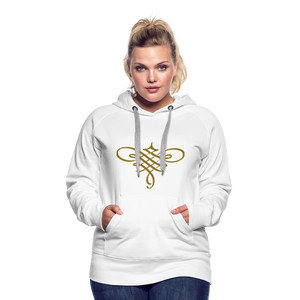 Ornament Women's Premium Hoodie - white