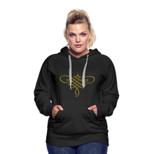 Load image into Gallery viewer, Ornament Women's Premium Hoodie - black
