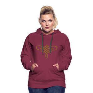 Ornament Women's Premium Hoodie - burgundy
