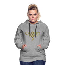 Load image into Gallery viewer, Ornament Women's Premium Hoodie - heather gray