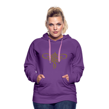 Load image into Gallery viewer, Ornament Women's Premium Hoodie - purple