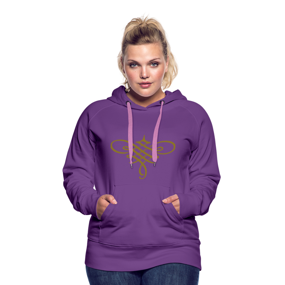 Ornament Women's Premium Hoodie - purple