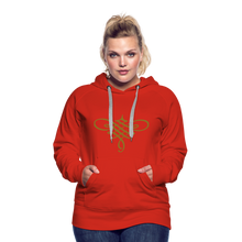 Load image into Gallery viewer, Ornament Women's Premium Hoodie - red