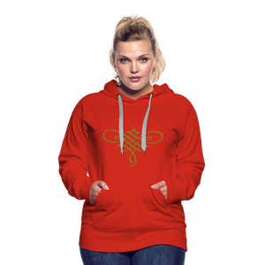 Ornament Women's Premium Hoodie - red