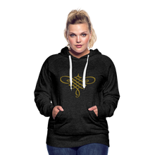 Load image into Gallery viewer, Ornament Women's Premium Hoodie - charcoal gray