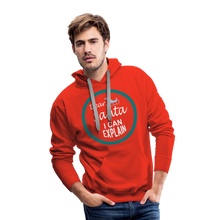 Load image into Gallery viewer, Dear Santa I can Explain Men's Premium Hoodie - red