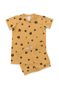 Ochre Star Shortie PJ Set