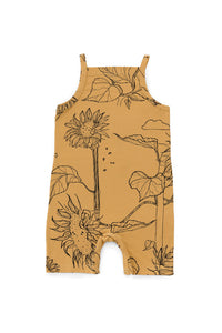 Ochre Sunflower Summer Suit
