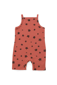 Papaya Star Summer Suit