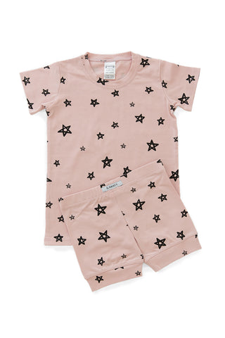 Rose Star Shortie PJ Set