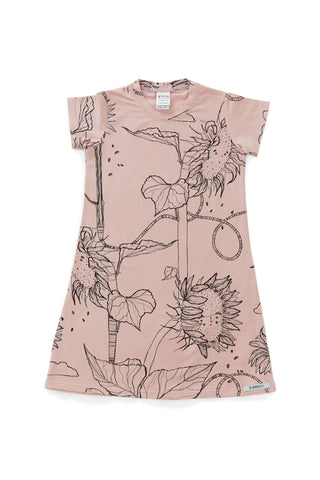 Rose Sunflower Shortsleeve Nightie
